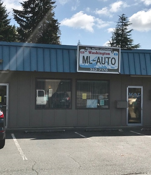 thurston county auditor licensing subagents m l auto licensing m l auto licensing