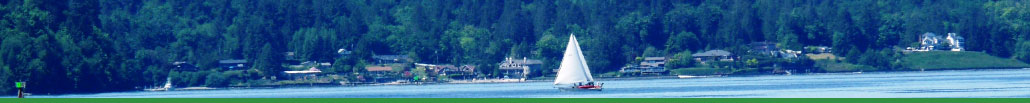 Picture of a sailboat in south Puget Sound