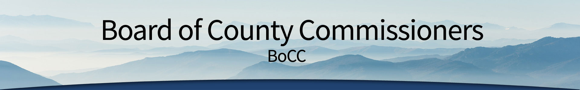 Board of County Commissioners header - Click for home