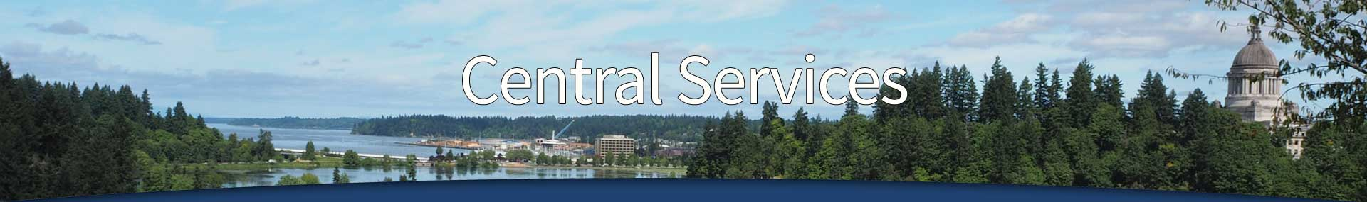 Central Services Department header - Click for home